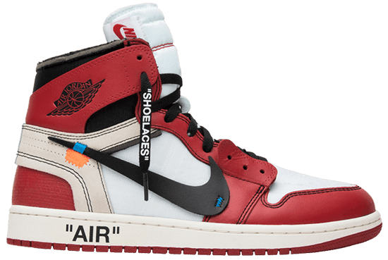 Virgil Abloh Designs AJ1 Red