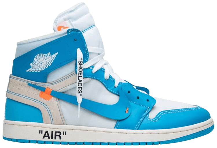 Virgil Abloh Designs AJ1 blue