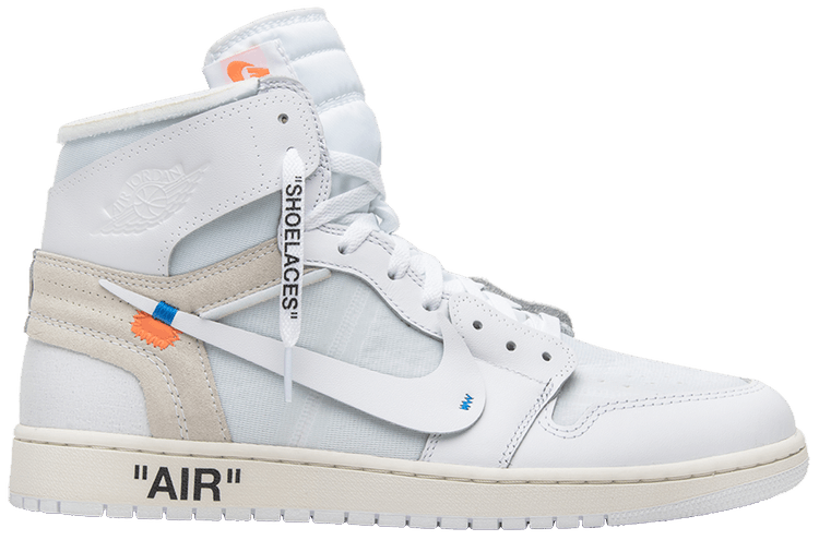 Virgil Abloh Designs AJ1 white
