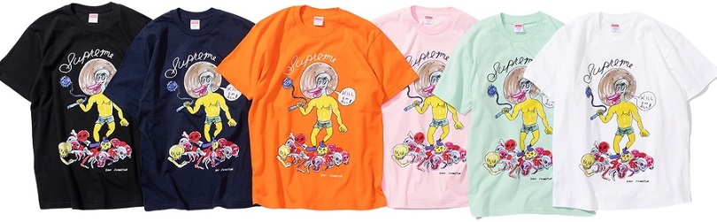 supreme daniel johnston tee 2