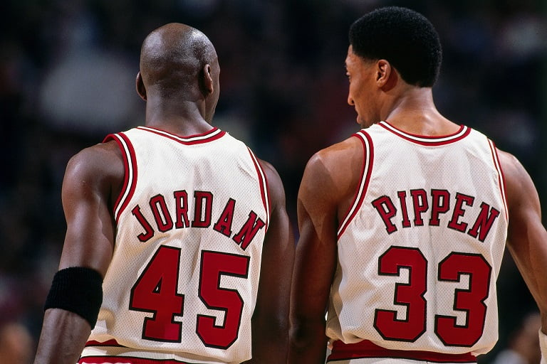 the last dance MJ Scottie Pippen