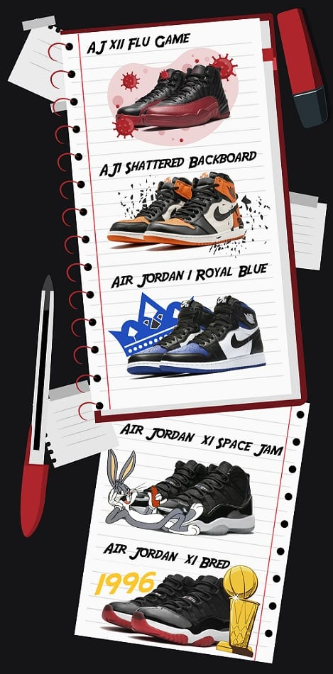 Air Jordan backstories