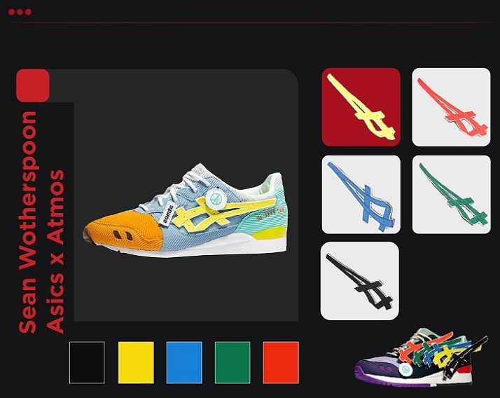 Sean Wotherspoon Asics Customizable