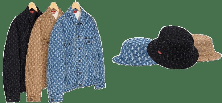 Supreme Vans Denim Jacket and Hat