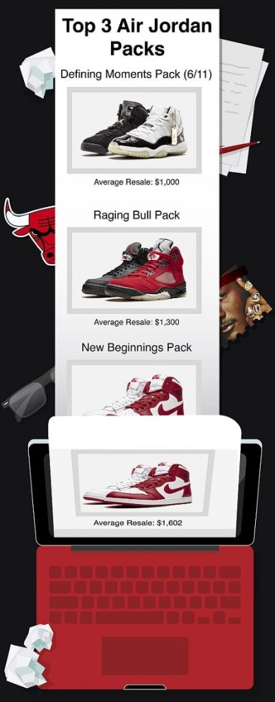 best air jordan packs