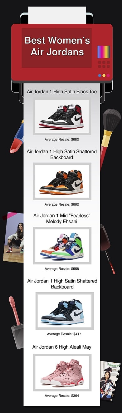 best women's air jordan