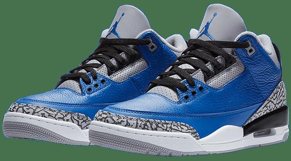 jordan 3 royal blue 2020