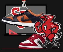 nike dunks champs and st johns