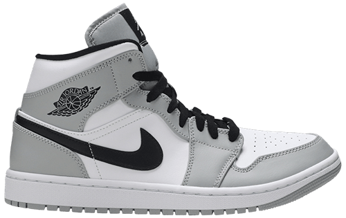 Air Jordan 1 Grey Smoke Mid