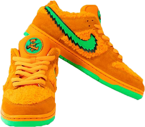 Grateful Dead Dunk Orange
