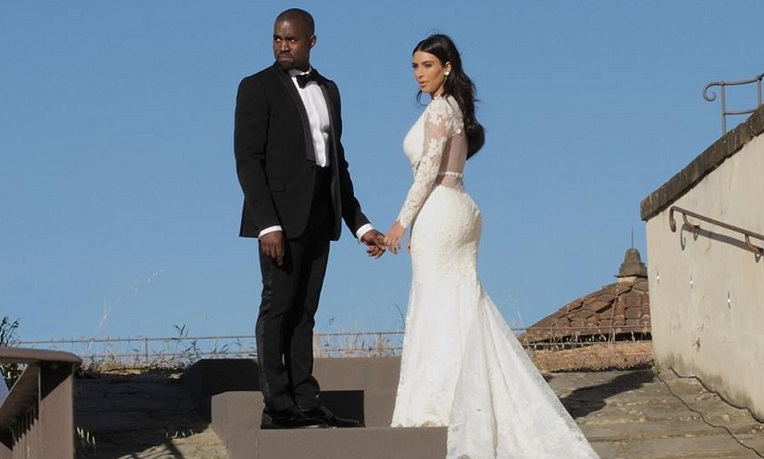 Kanye Kim Wedding