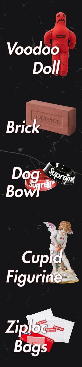 Weirdest Supreme items