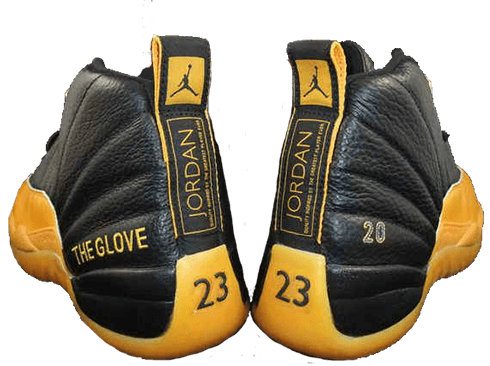 jordan 12 university gold the glove