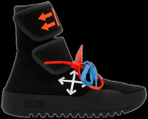 off white sneakers motowrap black
