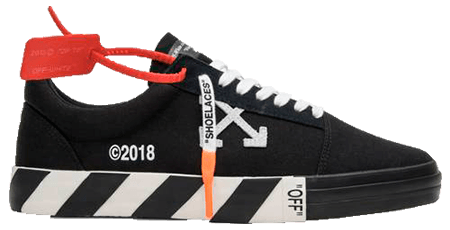off white sneakers vulc Low black