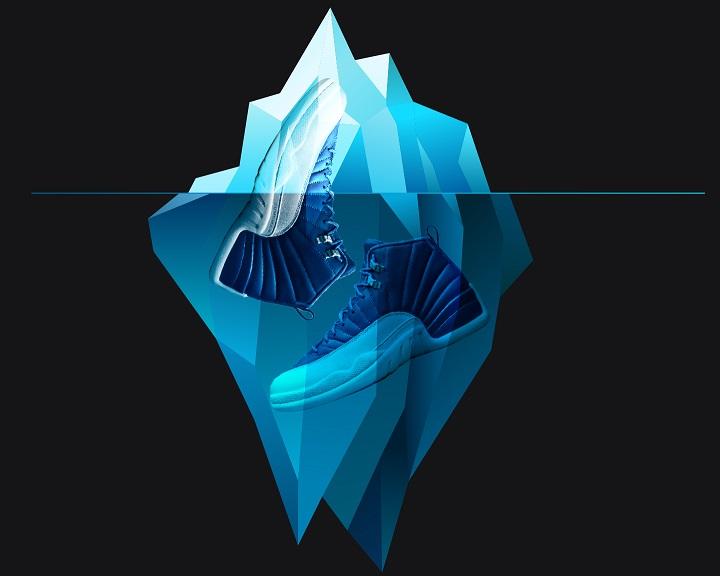 Blue Jordan 12 Indigo Retro