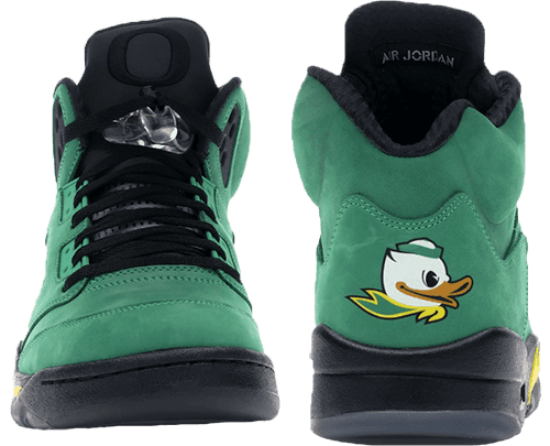 Jordan 5 Oregon Ducks Details