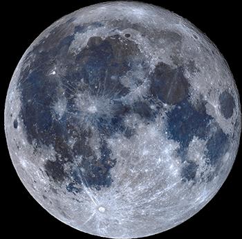 Moon jordan crater