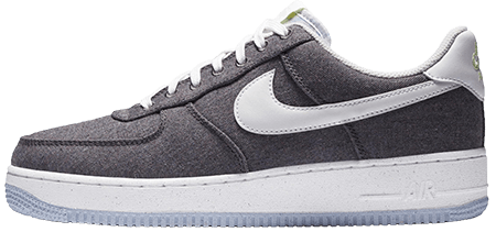Space Hippie - Recycled AF1 Grey
