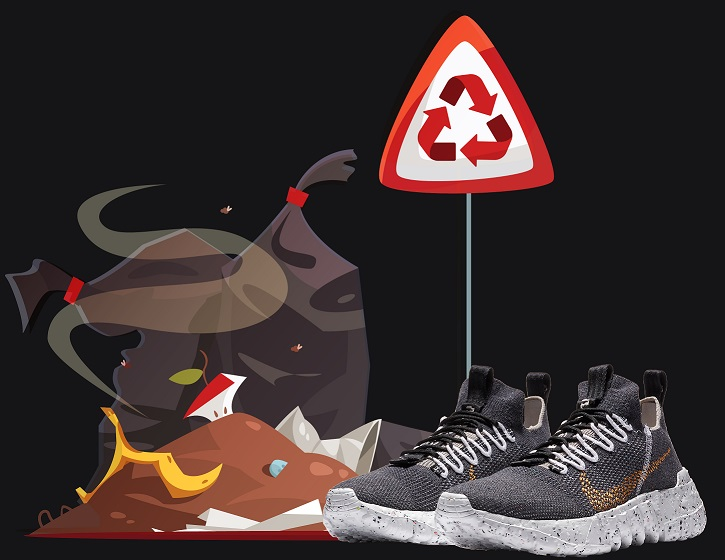 Nike Space Hippie Recycled Kicks