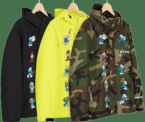 Supreme Preview - Smurf Jacket