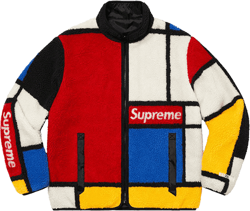 Supreme preview - reversible colorblocked jacket
