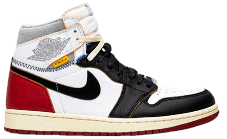 Union Jordan 1 Black toe