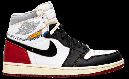 Union Jordan 1 Black toe