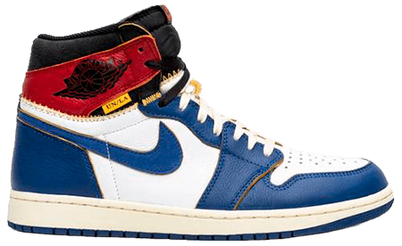 Union Jordan 1 Blue toe