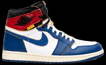 Union Jordan 1 Blue toe