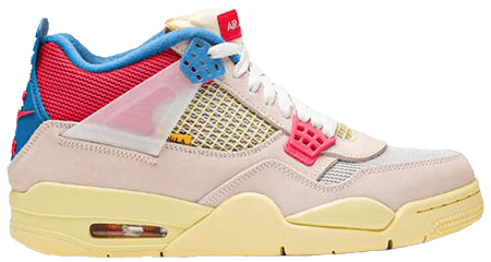 Union Jordan 4 Guava Ice