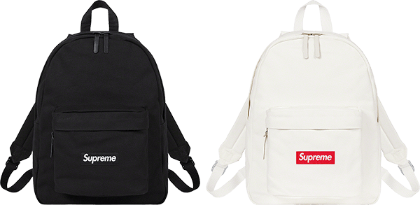 canvas backpack - supreme preview