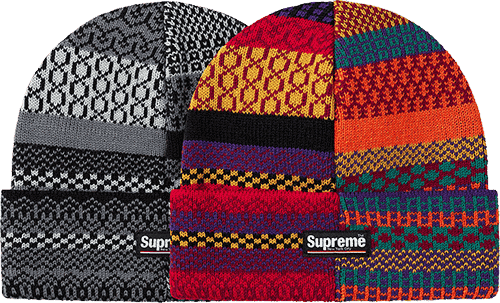 multi pattern beanie - supreme preview