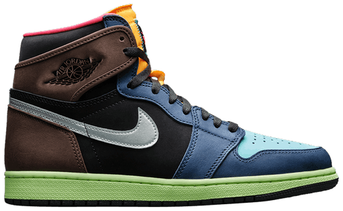 multicolor sneakers - jordan 1 biohack