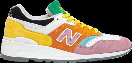 multicolor sneakers - new balance multicolor
