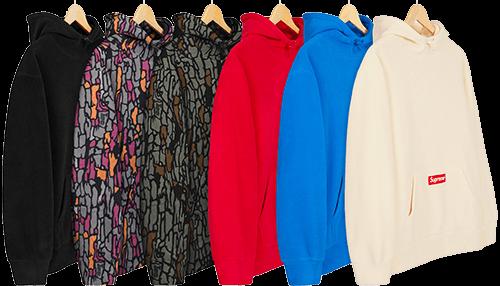 polartec hoodie - supreme preview