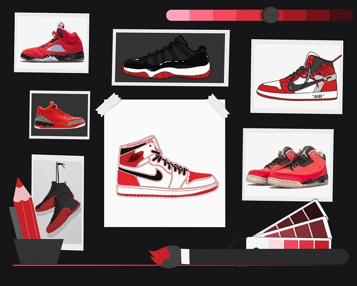 sneaker names jordans