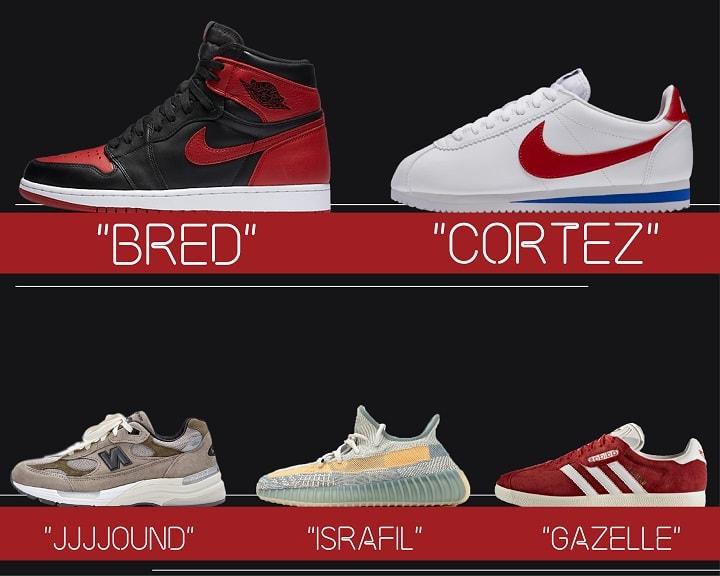 sneaker names nsb