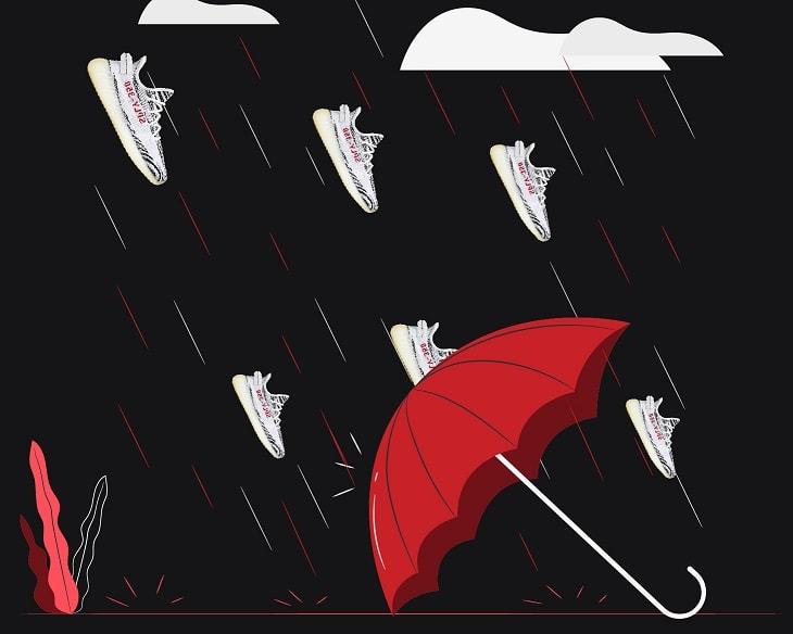sneaker names yeezy zebra