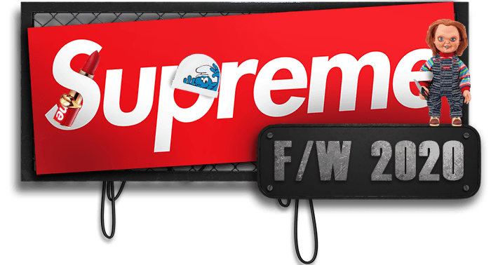 supreme preview list fw20