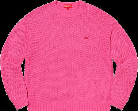 supreme preview - small bogo sweater