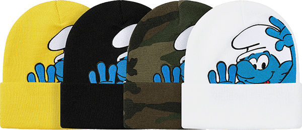 supreme preview - smurfs hat