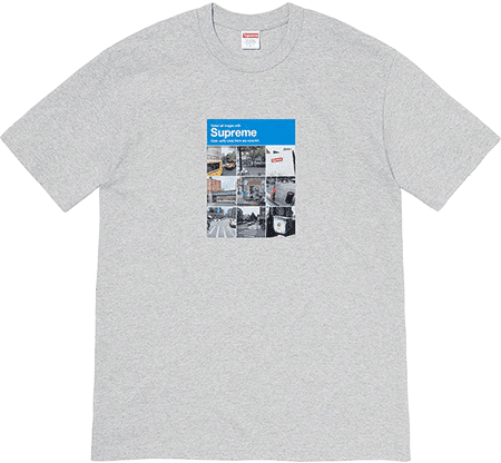 verify tee - supreme preview