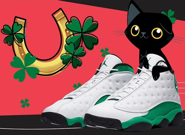 Air Jordan 13 Lucky Green Suprestitions