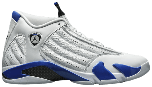 Jordan 14 Hyper Royal Look