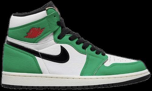 October Jordans - AJ1 Lucky Green