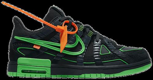 October Jordans - Green OW Rubber Dunk