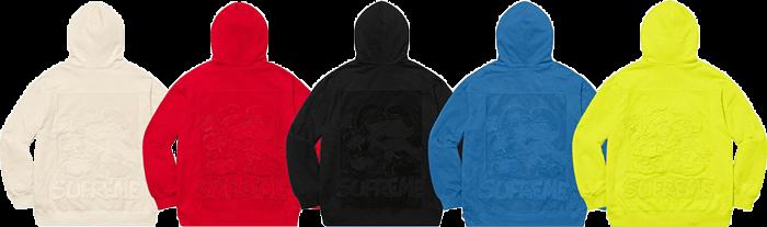 Supreme Smurfs hoodie