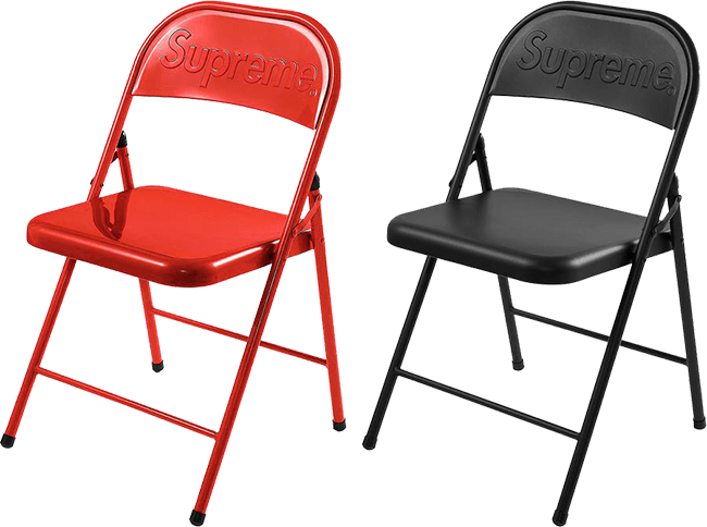 Supreme Week 2 Chair