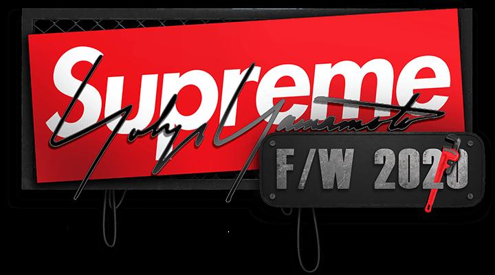 Supreme Yohji Yamamoto week 4